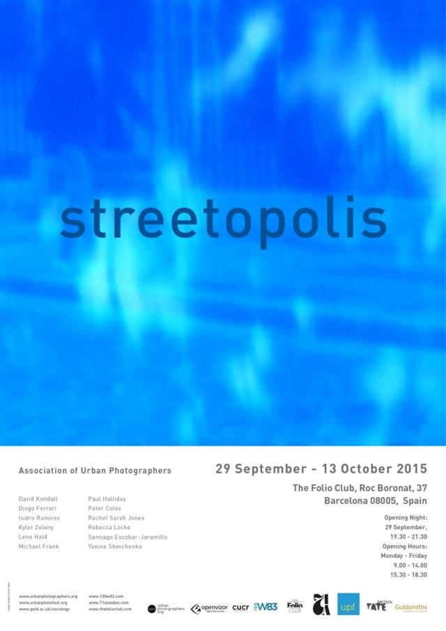 Poster for Streetopolis Barcelona show