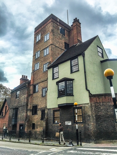 Tudor Canonbury Tower